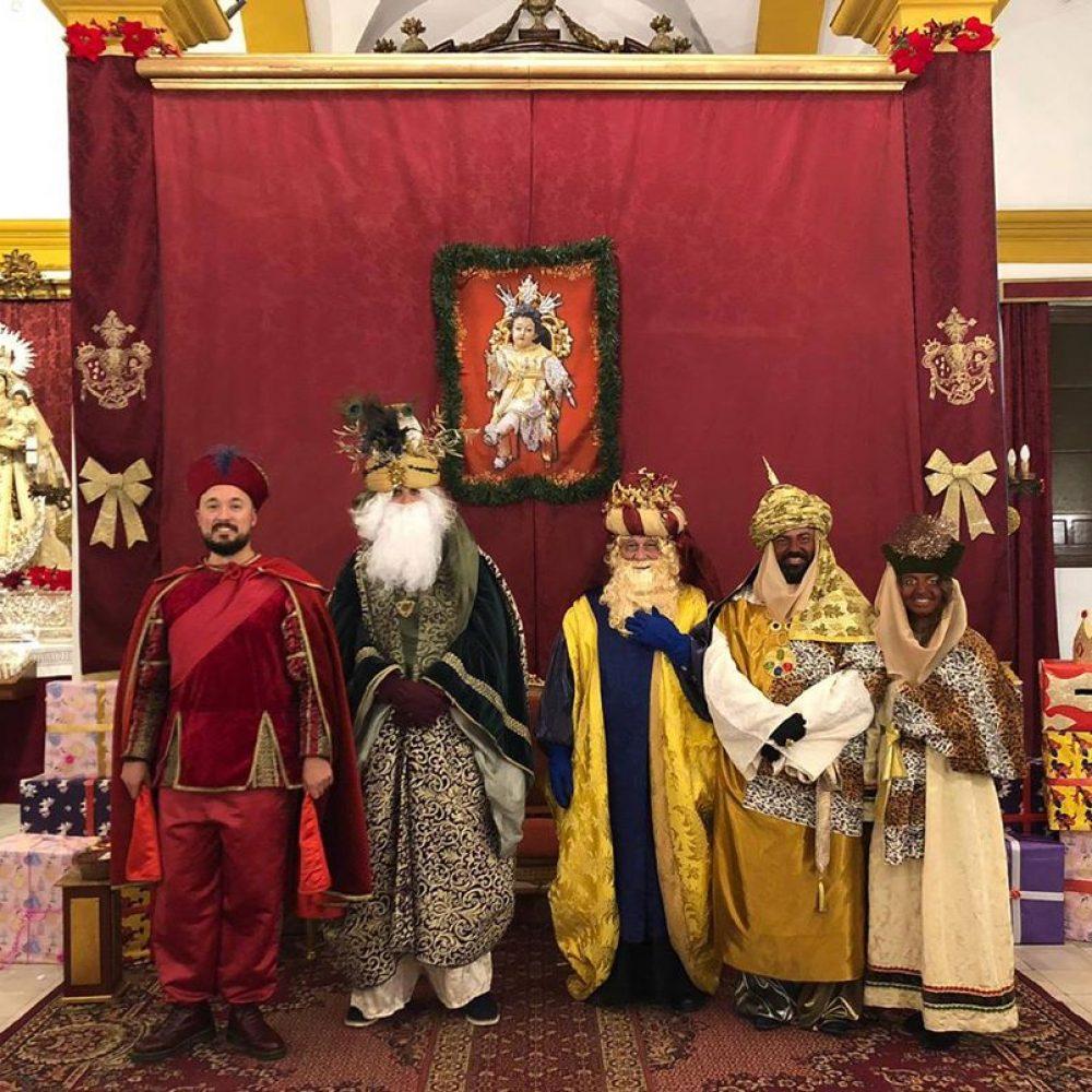 Nombrados los Reyes Magos de nuestra Hermandad