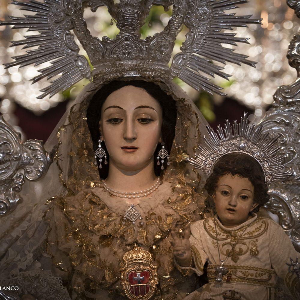 Fotografías de la Veneración de Ntra. Sra. de las Mercedes