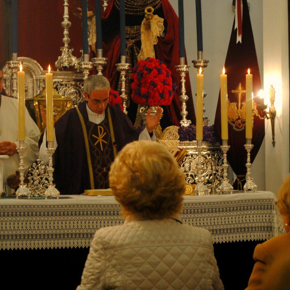 Supensión de las misas